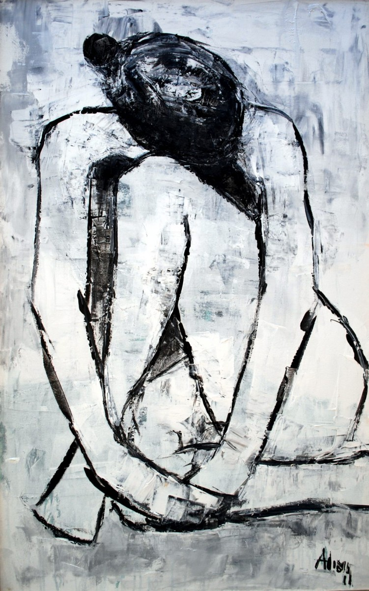 LOT-3-LOST-IN-THOUGHT-BY-ALIMI-ADEWALE-34X52-INCHES