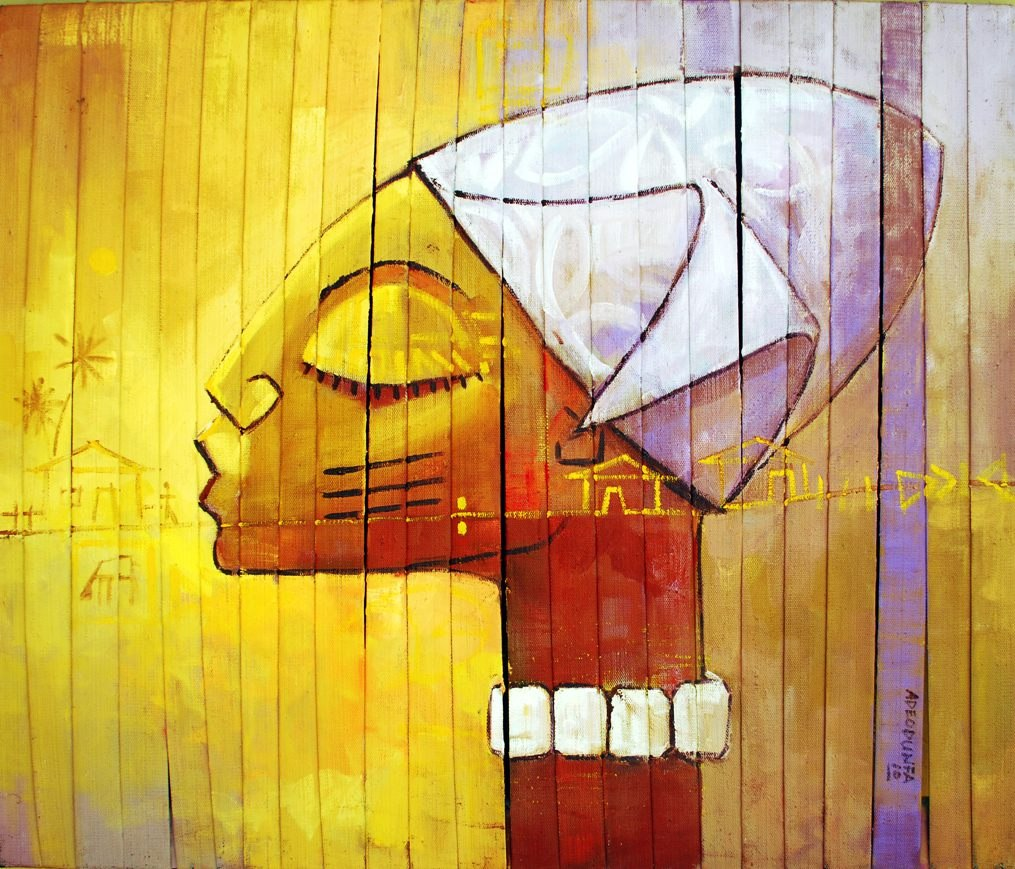 LOT-5-BABALODE-BY-ADE-ODUNFA-36-X-42-INCHES-OIL-ON-CANVAS-2010