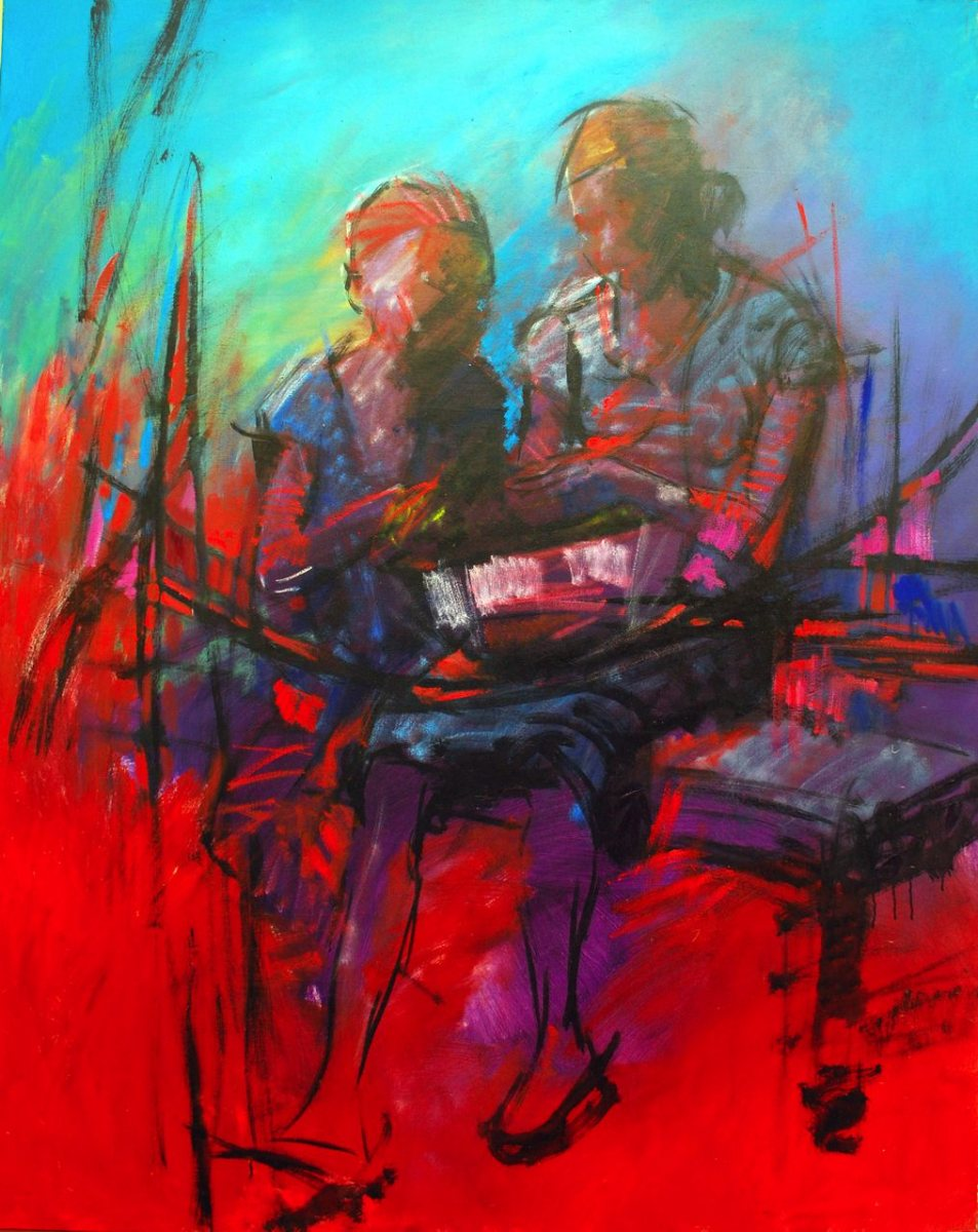 LOT-60-LESSON-1-BY-MICHEAL-ADENUBI-60X47INCHES-OIL-ON-CANVAS