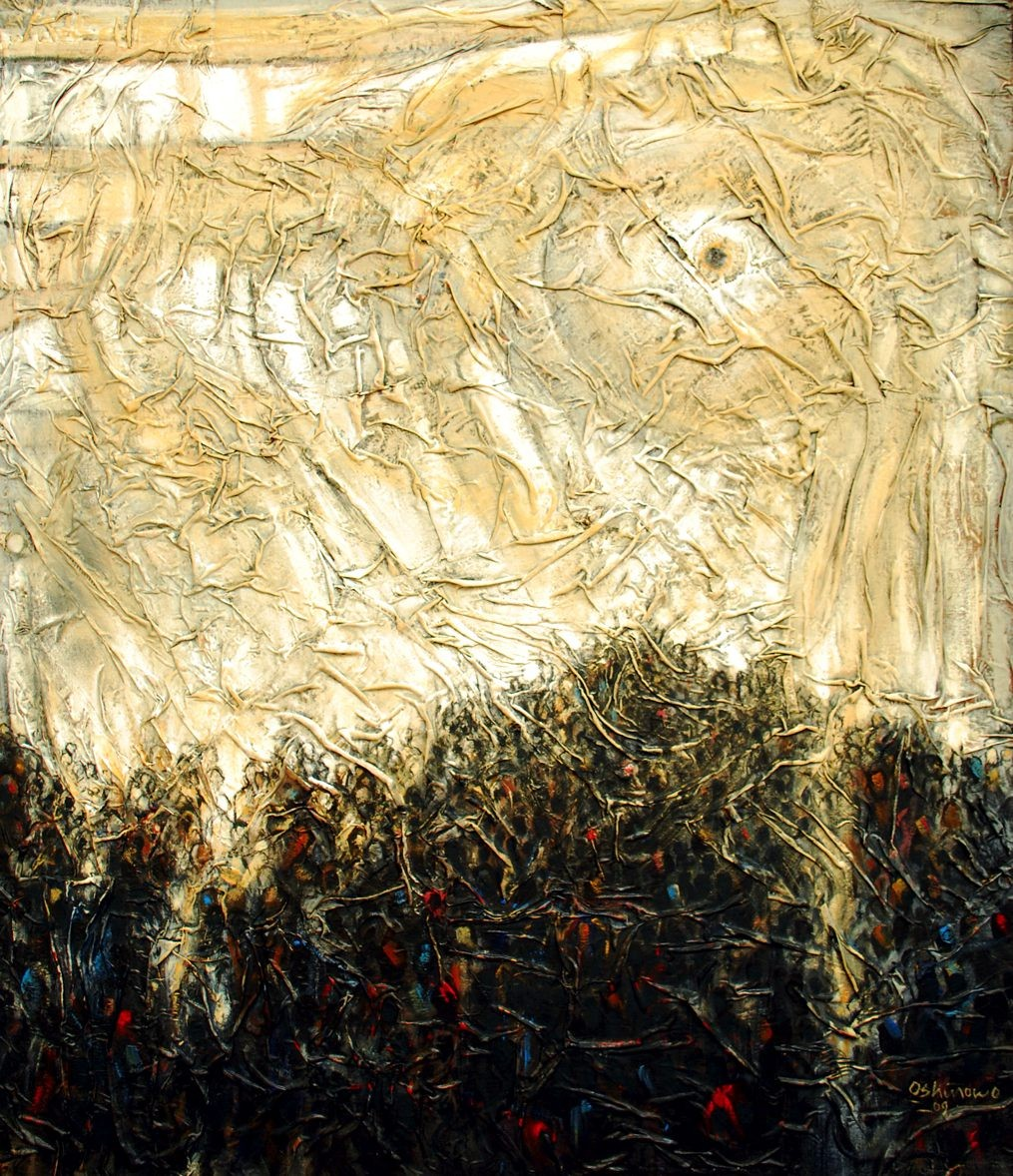 LOT-79-DIVINE-VISITATION-BY-KOLADE-OSHINOWO-56X48INCHES-OIL-ON-CANVAS