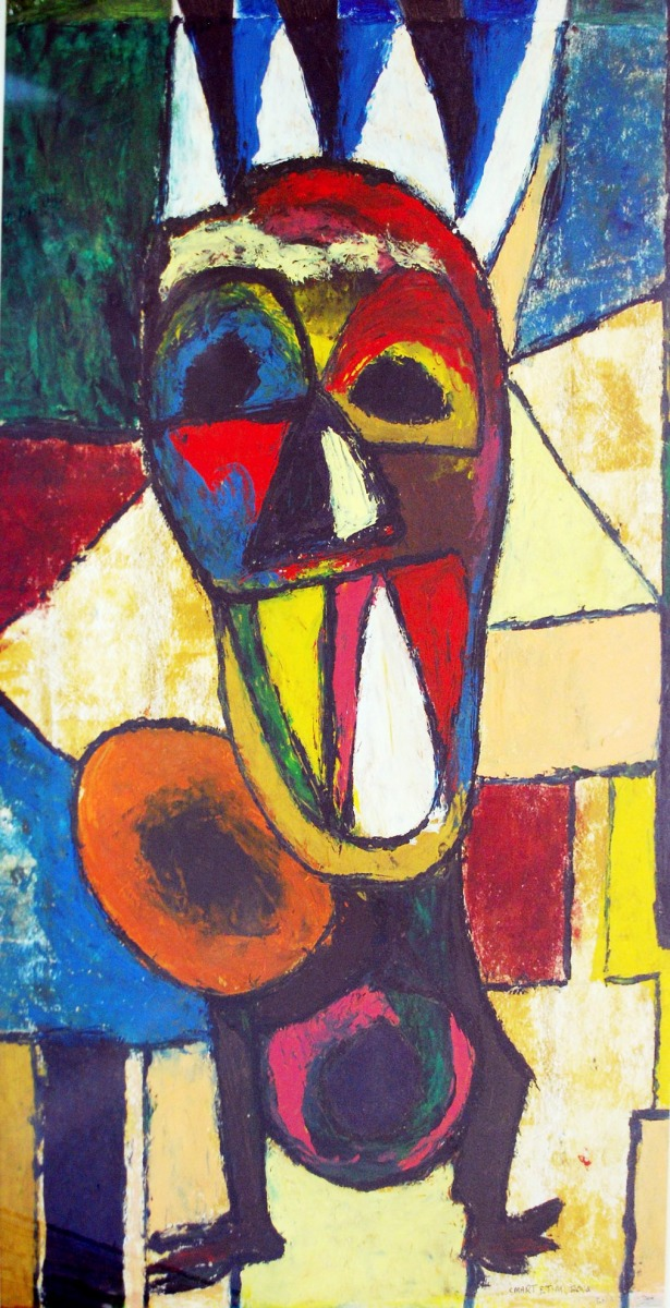 LOT-98-UNTITLED-1-BY-SMART-ETIM-21-X-29-INCHES-ACRYLIC-ON-PAPER-2000