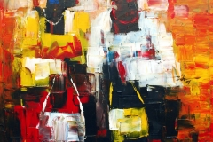 LOT-112-AMEBO-BY-MOSES-ZIBOR-48X43-INCHES-OIL-ON-CANVAS