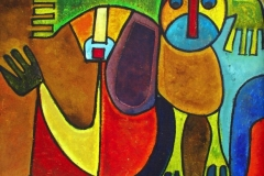LOT-93-UNTITLED-BY-RUFUS-OGUNDELE-28X52INCHES-ACRYLIC-ON-BOARD